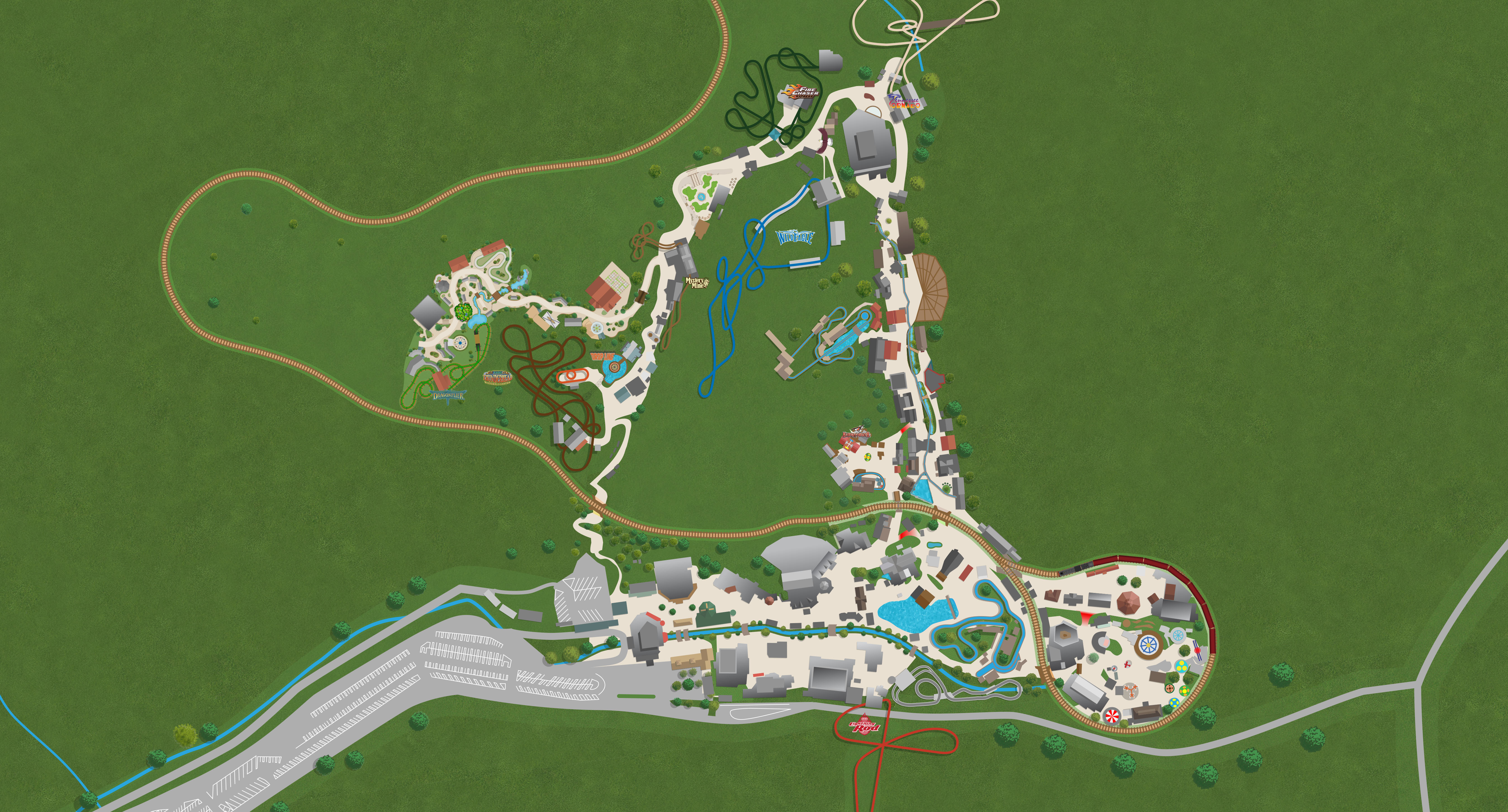 Dollywood Map From Dollywood 1