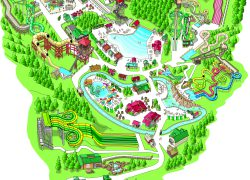 Dollywood map from dollywood 3