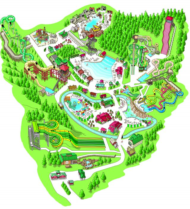 Dollywood Map