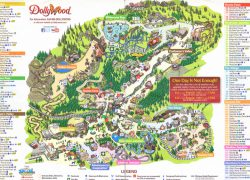 Dollywood map from themeparkreview 5