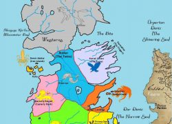 Game of thrones 7 kingdoms map from pinterest 7