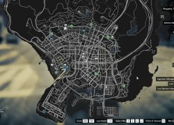 Gta online map from asapguide 5