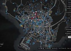 Gta online map from youtube 8
