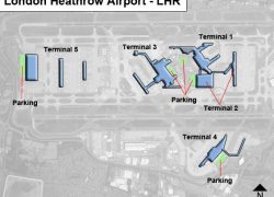 Heathrow airport map from ifly 2