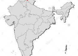 Himachal pradesh in india map from alamy 10
