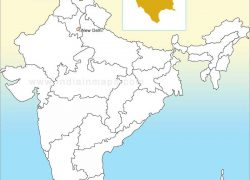 Himachal pradesh in india map from pinterest 9