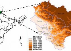 Himachal pradesh in india map from researchgate 7