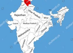 Himachal pradesh in india map from shutterstock 6