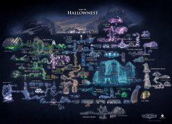 Hollow Knight Map