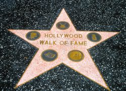 Hollywood Walk Of Fame Map: Hollywood walk of fame map from thesun 2