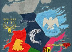Houses of game of thrones map from pinterest 3