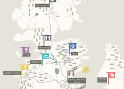 Houses of game of thrones map from pinterest 5