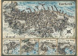Icewind dale map from pinterest 5