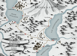 Icewind Dale Map: Icewind dale map from reddit 1