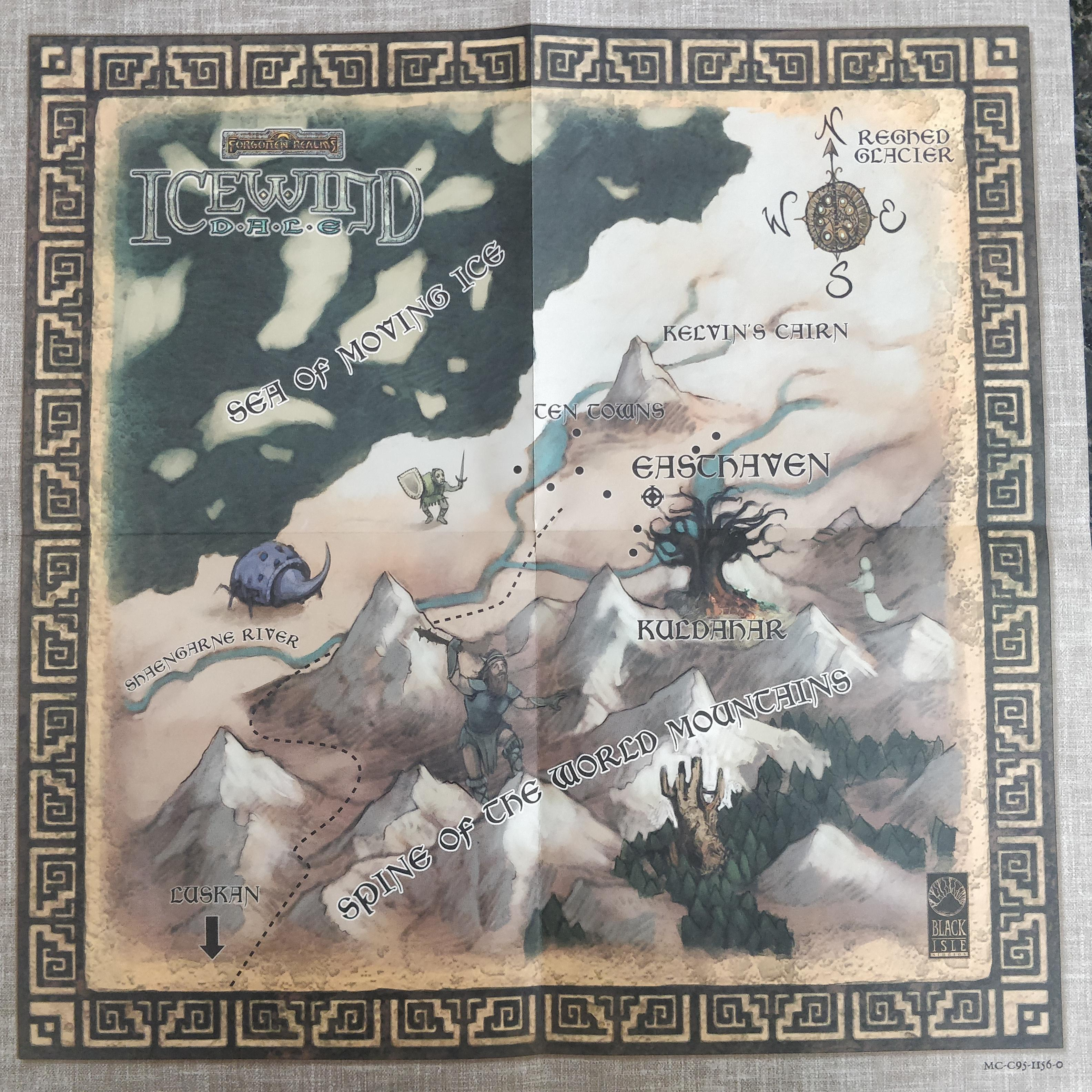 Icewind Dale Map From Reddit 6
