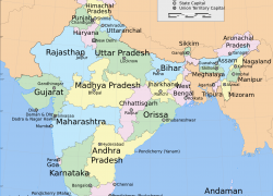 India states and capitals map from commons 5