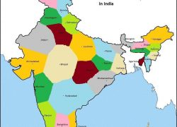 India states and capitals map from in 6