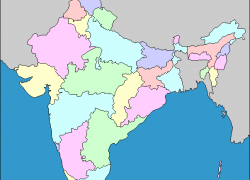India states and capitals map from yourchildlearns 8