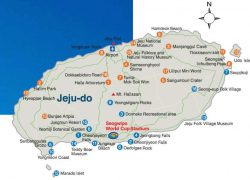 Jeju Island Map: Jeju island map from pinterest 1