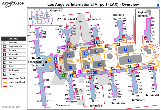 Lax terminal map from br 1