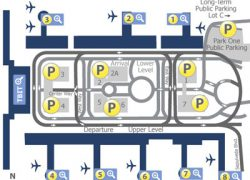 Lax terminal map from los angeles lax 2