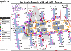 Lax terminal map from travelwidget 4