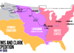Lewis and clark map from en 5