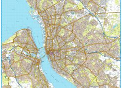 Liverpool Map: Liverpool map from mapshop 1