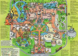 Magic kingdom map from mouseowners 8