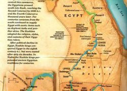 Map of ancient egypt and nubia from pinterest 6