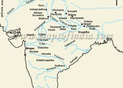 Map of ancient india from pinterest 7