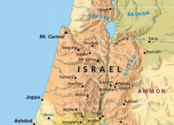 Map of ancient israel from biblestudy 6