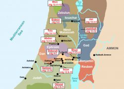 Map of ancient israel from conformingtojesus 3
