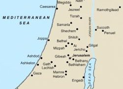 Map of ancient israel from pinterest 5