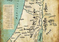 Map of ancient israel from pinterest 7