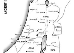 Map of ancient israel from pinterest 9