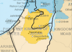 Map of ancient israel from reddit 8