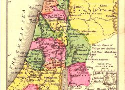 Map of ancient israel from zionism israel 10