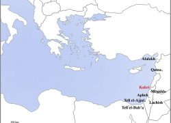 Map of eastern mediterranean from researchgate 5