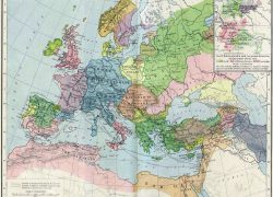Map of europe in the middle ages from en 9