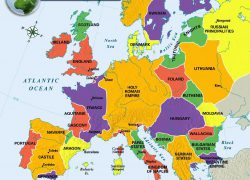Map of europe in the middle ages from pinterest 10