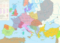 Map of europe in the middle ages from reddit 5