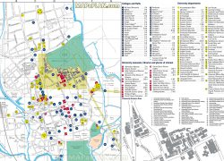 Map of oxford university from mapaplan 9