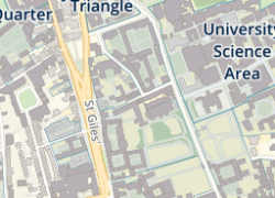 Map Of Oxford University: Map of oxford university from ox 1