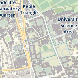 Map Of Oxford University From Ox 1