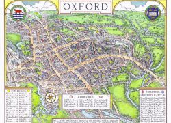 Map of oxford university from pinterest 6