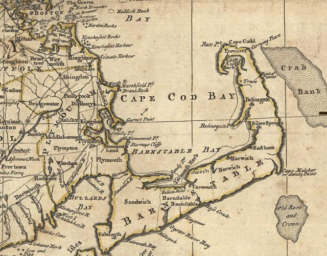 Map Of Plymouth Colony