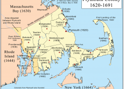 Map Of Plymouth Colony: Map of plymouth colony from pinterest 1