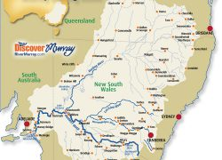 Murray river map from murrayriver 9
