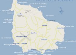 Norfolk island map from discovernorfolkisland 7